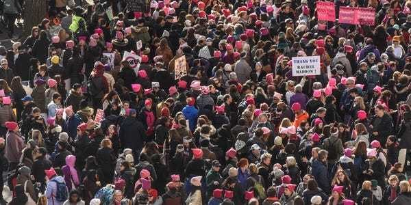 Global female empowerment marches enter second day - Business Insider