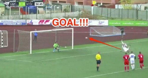 The most inventive and bizarre penalty kick of all time has just been scored in soccer — and it has to be seen to be believed