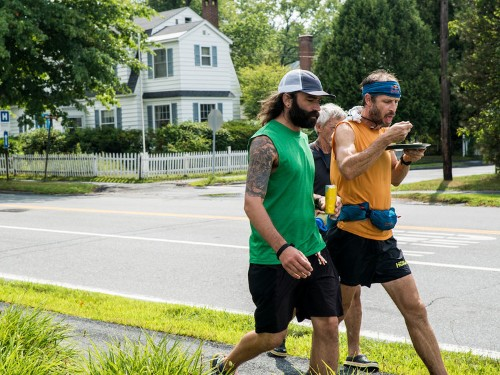A 48-year-old shattered the Appalachian Trail record — and he did it with protein, beer, and 20 pairs of shoes