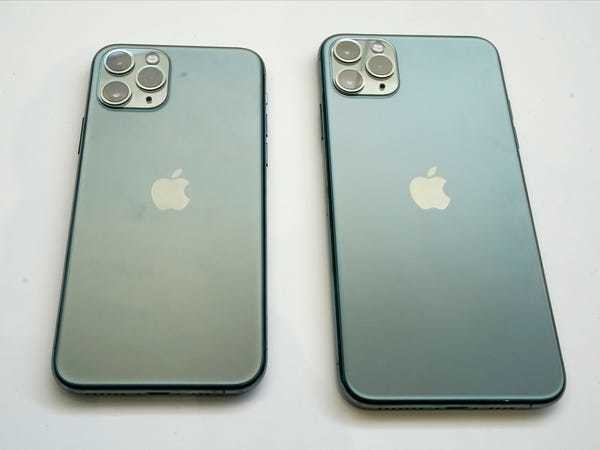 iPhone 11 Pro and iPhone 11 Pro Max compared: Why to pick the Pro - Business Insider