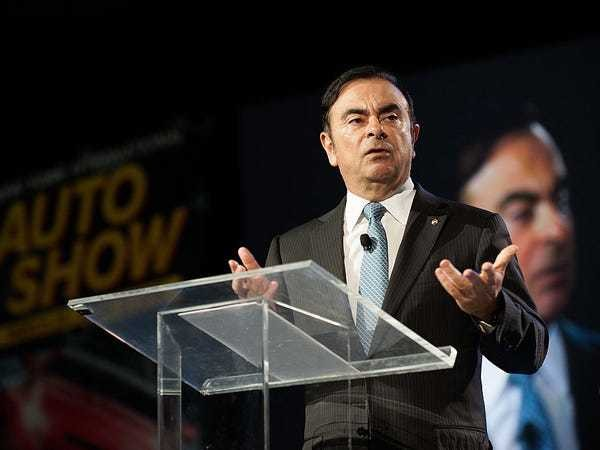 Disgraced former Nissan chairman Carlos Ghosn re-arrested amid new allegations - Business Insider
