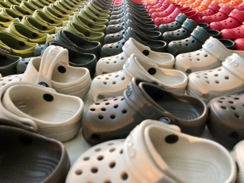 I went to a Crocs store and saw why so many people love the brand