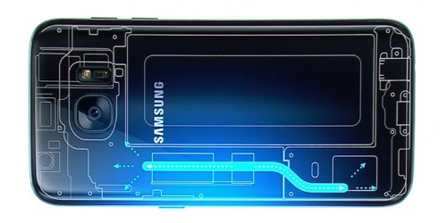 Samsung's new Galaxy S7 has a clever liquid cooling system