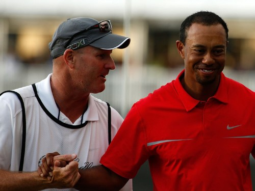 Meet The Caddie Who Quit His Job And Went To Work For Tiger Woods At His Absolute Low Point