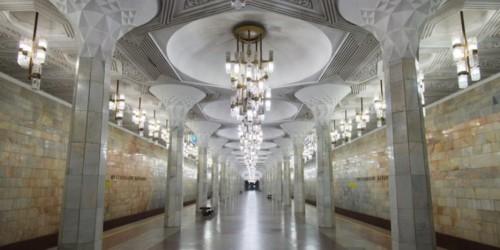 Inside Tashkent metro, illegal to photograph until last year