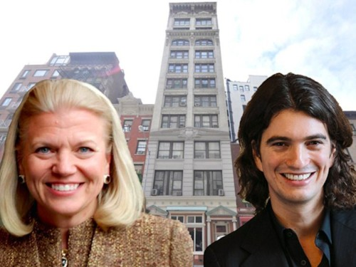 IBM will move into nearly an entire building managed by WeWork