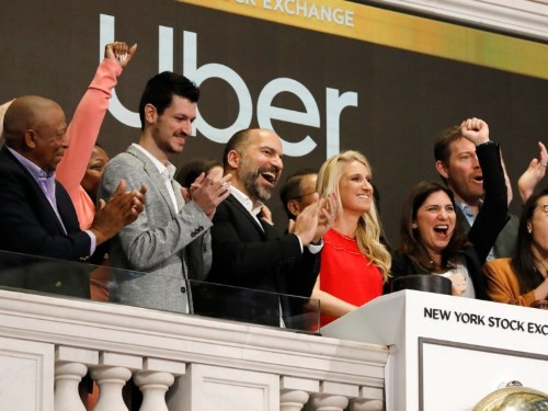 Uber employees reportedly started drinking before 6 a.m. on IPO day