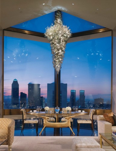 Take a tour of New York's most expensive penthouse suite