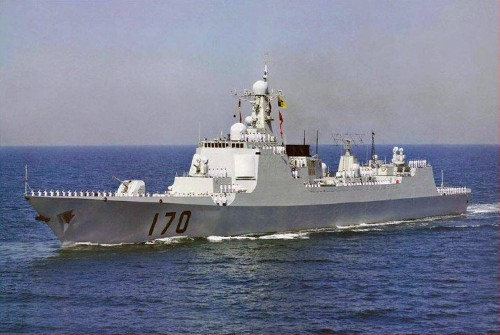 China Is Building A New Fleet Of Guided Missile Destroyers