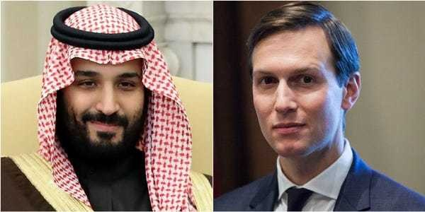 Saudi crown prince reportedly said Jared Kushner was 'in his pocket' - Business Insider