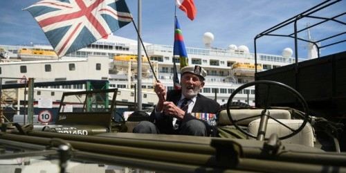 D-Day veterans are crossing the English Channel again, and this time they're looking forward to it