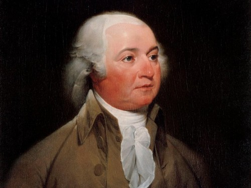 A look at the daily routine of John Adams, who woke before dawn, walked 5 miles at a time, and drank hard cider at breakfast