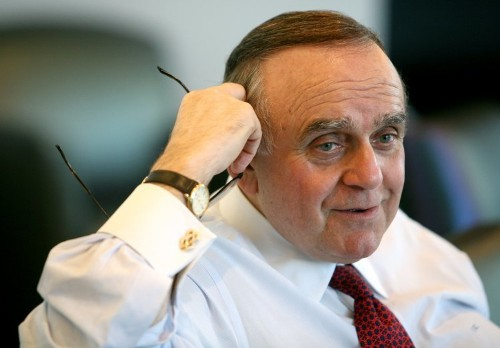 Cooperman is concerned about the impacts of passive in a bear market