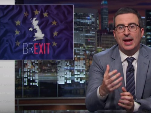 John Oliver shreds the Leave camp in an impassioned rant on the UK's Brexit referendum