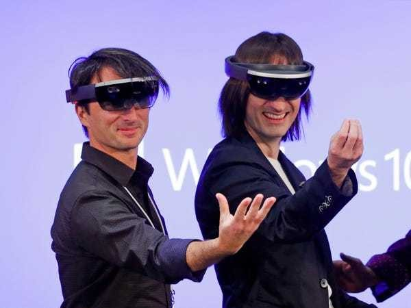 Here's everything we know about Microsoft's augmented reality headset HoloLens - Business Insider