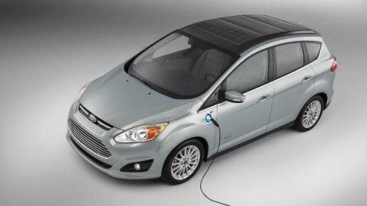 Ford Developed A Concept Car That Could Recharge Itself With Sunlight