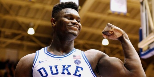 Celebrities have flocked to see Duke's 18-year-old superstar, Zion Williamson — here's why he's been dubbed one of the 'most impressive' collegiate prospects ever