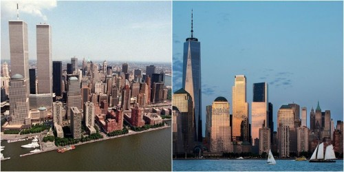 Photos show how Manhattan's Financial District has changed since 2001