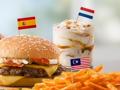 Leaked documents show that McDonald's is adding international hits to its American menu, including a Spanish McExtreme Bacon Burger and a Dutch Stroopwafel McFlurry