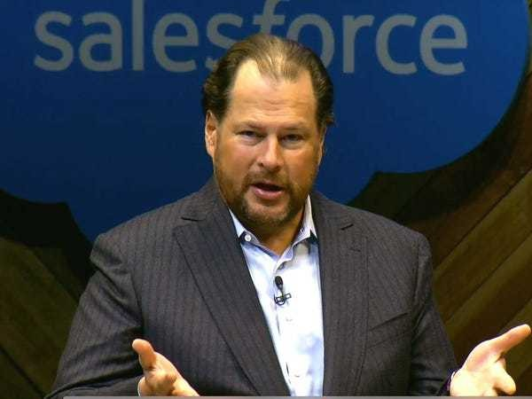 Marc Benioff tried to buy LinkedIn even after it announced the deal with Microsoft - Business Insider