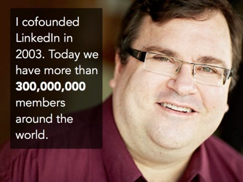 LinkedIn's billionaire founder Reid Hoffman says helping run PayPal taught him an unexpected lesson about networking