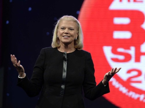Here's What IBM CEO Ginni Rometty Is Doing To Turn The Company Around
