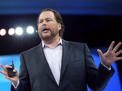 Salesforce CEO Marc Benioff just made a bold prediction about the future of tech