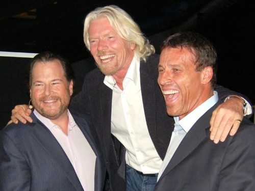 Tony Robbins says there's one trait massively successful people like Richard Branson, Marc Benioff, and Oprah Winfrey all share