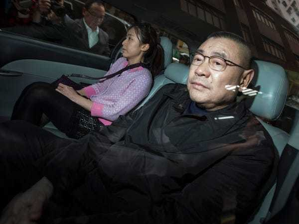 HK tycoon issued a full-page announcement about his breakup with ex - Business Insider