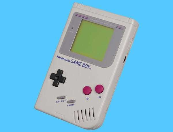 One man created an incredible update to the original Nintendo Game Boy - Business Insider