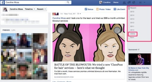 You're three clicks away from feeling completely embarrassed by how you used to use Facebook
