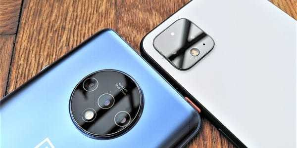 Google Pixel 4 vs OnePlus 7T: Why you shoud buy the OnePlus instead - Business Insider