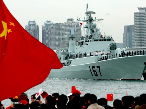 JAPAN: China's military buildup is making the world 'greatly worried'