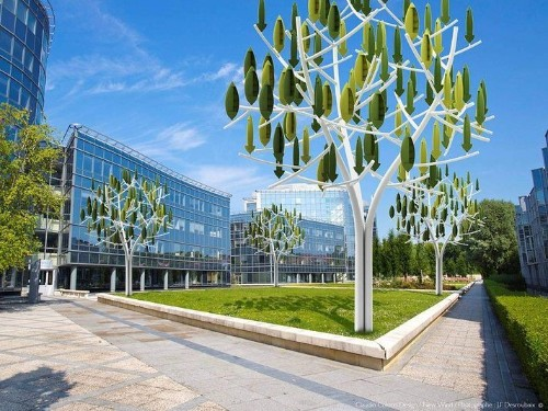 These New Wind Turbines Are Designed To Look Like Trees