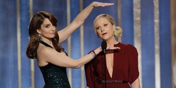 Tina Fey and Amy Poehler's best awards show moments - Business Insider