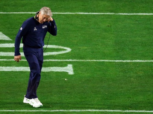 Pete Carroll explains why the Seahawks ran what is being called the worst play call in Super Bowl history