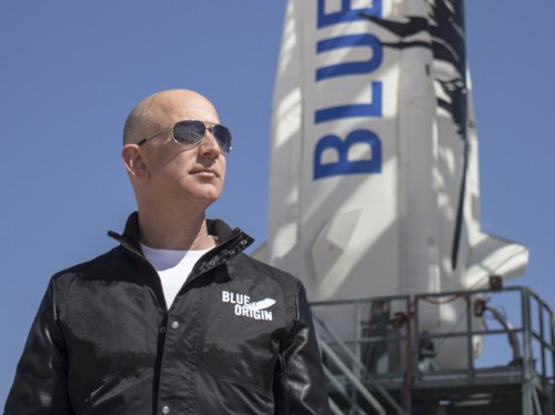 Amazon CEO Jeff Bezos has a clever idea to get more people to work on space technology