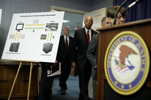 Hacking ring accused of making $100M on stolen news releases