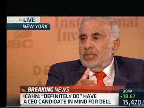 CARL ICAHN: 'I've Never Seen A Board As Bad As Dell's'