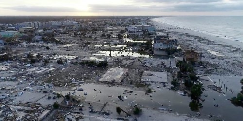 25 photos show Hurricane Michael's destruction from the sky