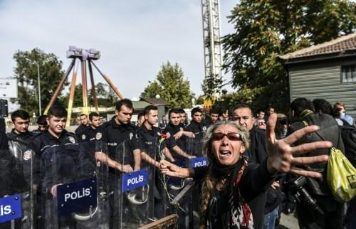 Fury towards Erdogan intensifies after Ankara attack