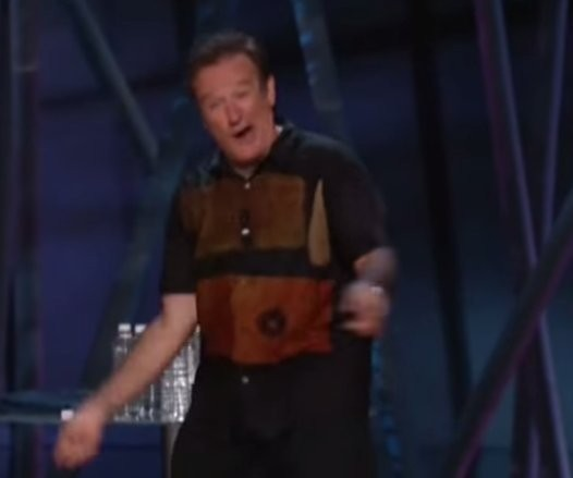 Here's Robin Williams' Unforgettable Joke About The Invention Of Golf From His Grammy-Winning Broadway Performance (NSFW)
