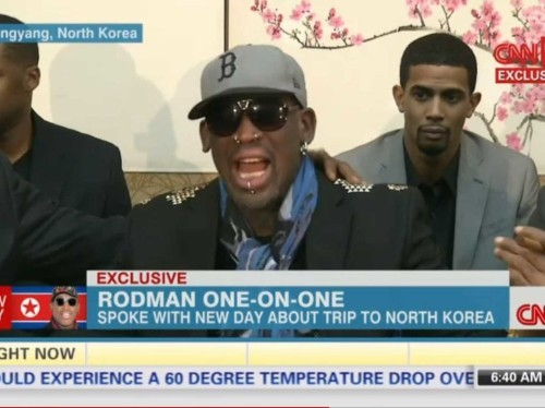 DENNIS RODMAN: Sorry About What I Said In North Korea, 'I Had Been Drinking'