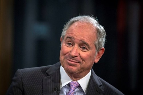 The CEO of Blackstone took home $810.6 million in 2015
