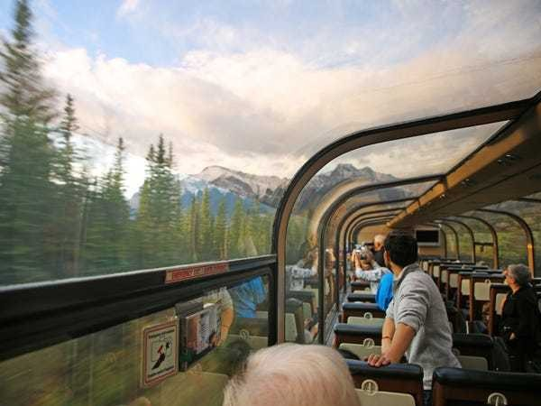 Stunning views from The Canadian, the longest train ride in North America - Business Insider