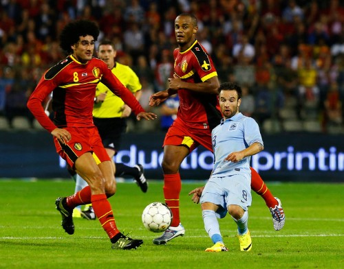 A Mind-Blowing Photo Of A French Soccer Player Looking Absurdly Small
