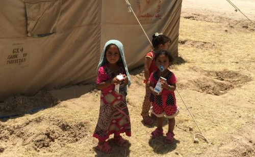 Nearly 50 million children have been 'uprooted' from their homes worldwide