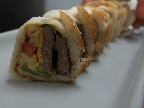 This master sushi chef turned a McDonald's Big Mac into a sushi roll - Business Insider