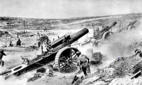 The US entered World War I on this day in 1917 — here's the massive scope of that conflict in one GIF