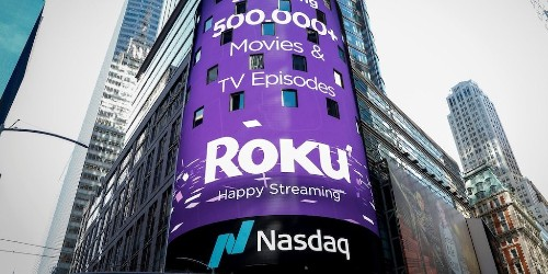 Roku extends its gains since December to almost 400% (ROKU)
